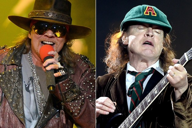 Axl Rose To Front Ac Dc Reports Dbtechno